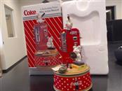 COCA COLA Classic Toy MINI ACTION MUSICAL